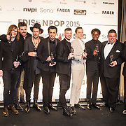 NLD/Amsterdam/20150202 - Edison Awards 2015, Winnaars Edison Pop