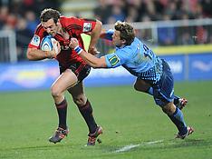 Christchurch-Rugby, Super 15, Crusaders v Bulls