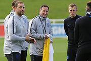 England assistant manager Steve Holland during England's Euro 2020 Qualifier training session at St George's Park National Football Centre, Burton-Upon-Trent, United Kingdom on 23 March 2019.