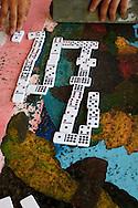 Dominoes in Candelaria, Artemisa, Cuba.