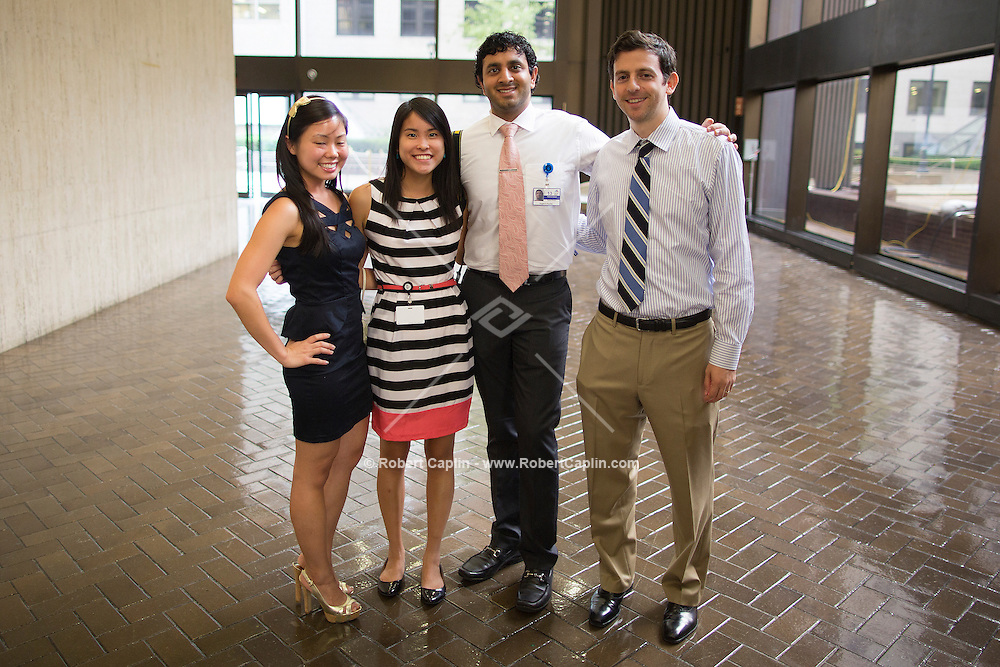 Mount Sinai School of Medicine White Coat Ceremony. <br /> (Photo by Robert Caplin)