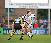 Wycombe, GREAT BRITAIN, Running from behind,  Mark CUETO looks to support Charlie HODGSON,  during the a first half attack by Sale. Guinness Premiership match,  London Wasps vs Sale Sharks at Adam's Park Stadium, Bucks, on Sun 23.11.2008. [Photo, Peter Spurrier/Intersport-images]