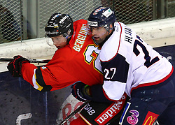 18.12.2011, Albert Schultz Halle, Wien, AUT, European Trophy, Spiel um Platz 3, Lulea Hockey vs Linkoepings HC, im Bild Jonas Berglund, (Lulea Hockey, #23) und Jan Hlavac, (Linkoepings HC, #27) , EXPA Pictures © 2011, PhotoCredit: EXPA/ T. Haumer