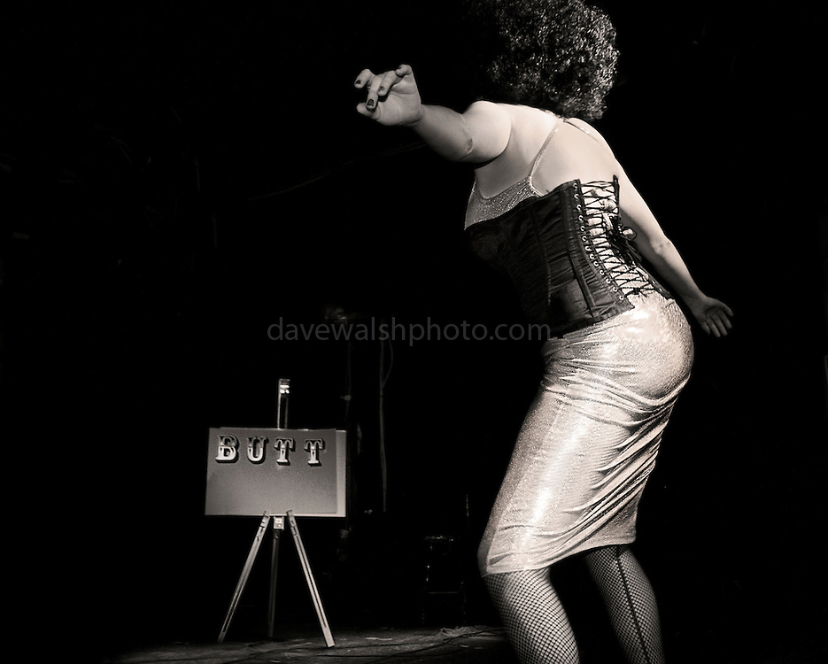 Streetboobs aka Momma Pony performing at Gush in the Voodoo Lounge, Dublin 17082007..