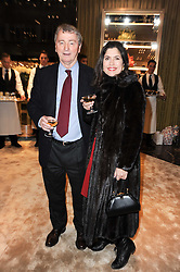STEPHEN & KIMBERLEY QUINN at a Cocktail party to celebrate the opening of the new Miu Miu boutique, 150 New Bond Street, London hosted by Miuccia Prada and Patrizio Bertelli on 3rd December 2010.
