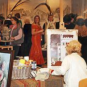 NLD/Huizen/20060105 - Nieuwjaarsreceptie gemeente Huizen met als thema kunst