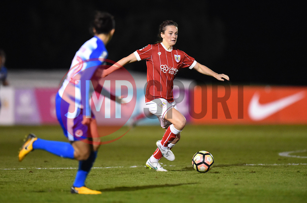 Chloe Arthur of Bristol City Women - Mandatory by-line: Paul Knight/JMP - 28/10/2017 - FOOTBALL - Stoke Gifford Stadium - Bristol, England - Bristol City Women v Reading Women - FA Women's Super League