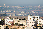 A view of the Tel Aviv Metropolitan area as seen from the West Bank