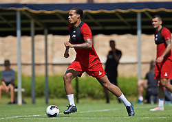 SOUTH BEND, INDIANA, USA - Thursday, July 18, 2019: Liverpool's Virgil van Dijk during a training session ahead of the friendly match against Borussia Dortmund at the Notre Dame Stadium on day three of the club's pre-season tour of America. (Pic by David Rawcliffe/Propaganda)
