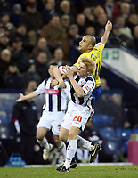 Photo: Rich Eaton.<br /> <br /> West Bromwich Albion v Preston North End. Coca Cola Championship. 26/12/2006. Danny Dichio of Preston NE right elbows Paul McShane of West Brom and receives a red  card