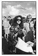 Isobel Goldsmith, Cartier polo, Windsor, 1985