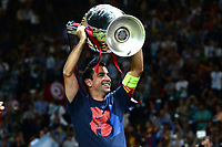 Xavi Hernandez Celebration <br /> Berlino 06-06-2015 OlympiaStadion  <br /> Juventus Barcelona - Juventus Barcellona <br /> Finale Final Champions League 2014/2015 <br /> Foto Matteo Gribaudi/Image Sport/Insidefoto