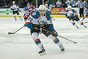 KELOWNA, CANADA - FEBRUARY 22:  Conner Bruggen-Cate #20 of the Kelowna Rockets at the Kelowna Rockets game on February 22, 2017 at Prospera Place in Kelowna, British Columbia, Canada.  (Photo By Cindy Rogers/Nyasa Photography,  *** Local Caption ***