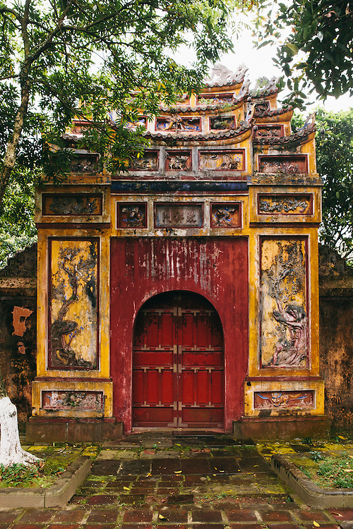 Gate of Imperial Citadel. Hue, Vietnam