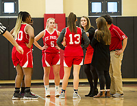 St Paul's School girls varsity basketball with Andover.. ©2019 Karen Bobotas Photographer