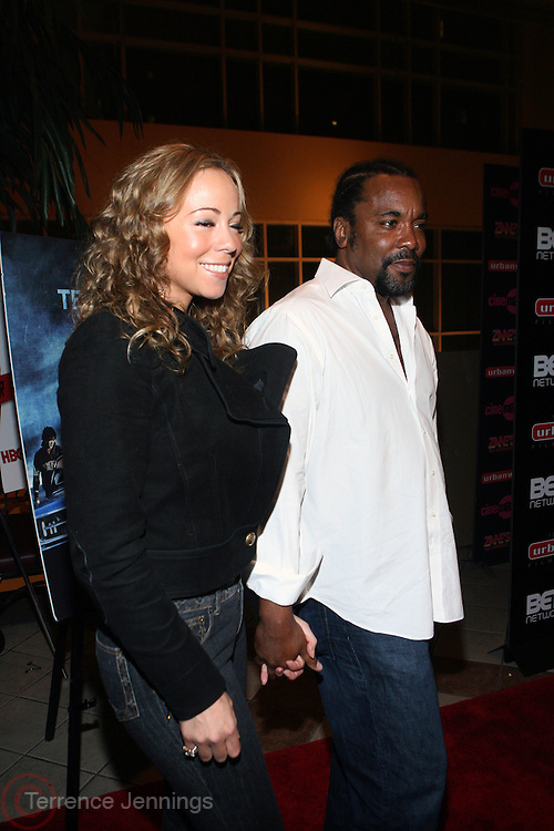 "l to r: Mariah Carey and Lee Daniels at the 12th Annual  Urbanworld Film Festival screening of ""Tennessee""  held in NYC at the AMC Loews Theater on September 12, 2008..The Urbanworld  Film Festival is dedicated to showcasing the best of urban independent film.."
