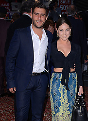 Alik Alfus and Louise Thompson attend an exclusive charity preview screening of Downton Abbey on behalf of The Cinema and Television  Benevolent Fund  at The Empire, Leicester Square on Wednesday 17th September 2014