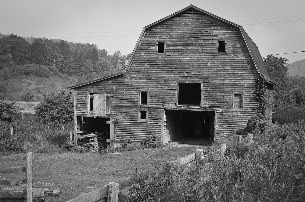 This old barn is still in use and has been kept in good shape.