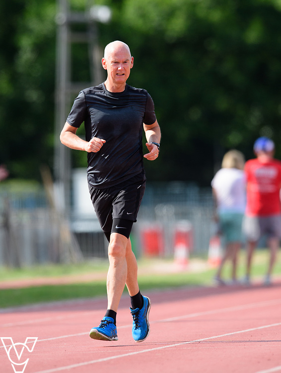 Metro Blind Sport's 2017 Athletics Open held at Mile End Stadium.  5000m.<br /> <br /> Picture: Chris Vaughan Photography for Metro Blind Sport<br /> Date: June 17, 2017