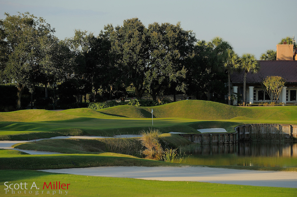 The ninth hole on the South Course at Grand Cypress on Oct. 19, 2010 in Orlando, Florida......©2010 Scott A. Miller