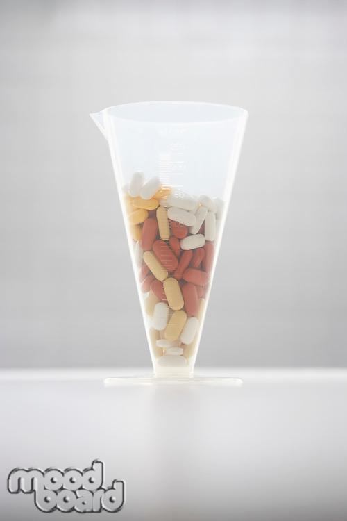 Pills in funnel