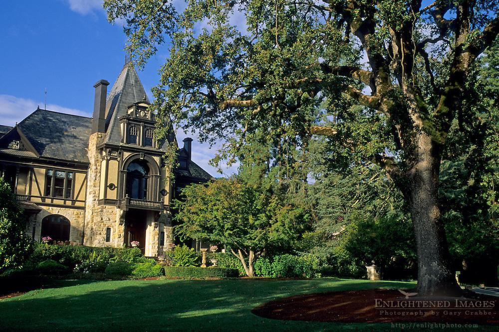 Victorian Mansion at Beringer (c1883) St. Helena, Napa Valley, Napa County, California