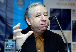 12.12.2015, Westin Hotel, Zagreb, CRO, FIA Action for Road Safety, Pressekonferenz, im Bild FIA President and former member of the Ferrari Formula 1 team, Jean Todt // during a press conferenz for FIA Action for Road Safety at the Westin Hotel in Zagreb, Croatia on 2015/12/12. EXPA Pictures © 2015, PhotoCredit: EXPA/ Pixsell/ Marko Lukunic<br /> <br /> *****ATTENTION - for AUT, SLO, SUI, SWE, ITA, FRA only*****
