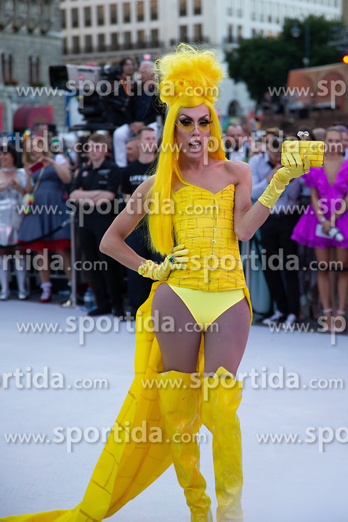 08.06.2019, Rathaus, Wien, AUT, Life Ball im Bild Alaska Thunderfuck // during the Life Ball at the Rathaus in Wien, Austria on 2019/06/08. EXPA Pictures © 2019, PhotoCredit: EXPA/ Florian Schroetter