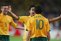 Jubel Australien 2:2 durch Harry Kewell, Tim Cahill<br /> Fussball WM 2006 Kroatien - Australien<br /> Kroatia - Australia<br /> Norway only