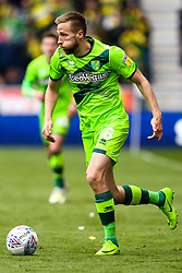 Marco Stiepermann of Norwich City - Mandatory by-line: Robbie Stephenson/JMP - 14/04/2019 - FOOTBALL - DW Stadium - Wigan, England - Wigan Athletic v Norwich City - Sky Bet Championship