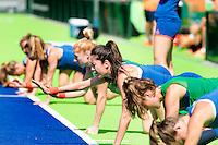 RIO DE JANEIRO (Brazilie) - De dames  van Oranje trainen vanmorgen in het Olympische hockeystadion . Midden Naomi van As. COPYRIGHT KOEN SUYK