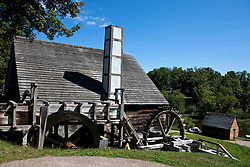 Forge building, Saugus Iron Works National Historic Site, Saugus, Massachusetts, United States of America