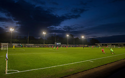 General view inside the New Lawn stadium during the second half. - Mandatory by-line: Alex James/JMP - 08/08/2017 - FOOTBALL - New Lawn Stadium - Nailsworth, England - Forest Green Rovers v Milton Keynes Dons - Carabao Cup
