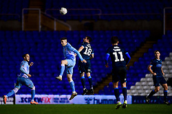 Michael Kelly of Bristol Rovers contends for the aerial ball  - Mandatory by-line: Ryan Hiscott/JMP - 14/01/2020 - FOOTBALL - St Andrews Stadium - Coventry, England - Coventry City v Bristol Rovers - Emirates FA Cup third round replay
