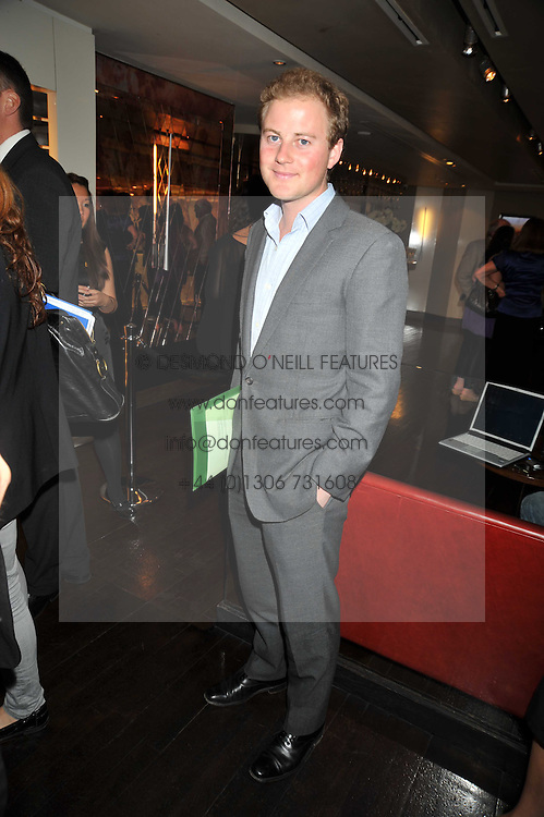 GUY PELLY at the launch of Tom Parker Bowles's new book 'Full English' held in the Gallery Restaurant, Selfridges, Oxford Street, London on 9th September 2009.