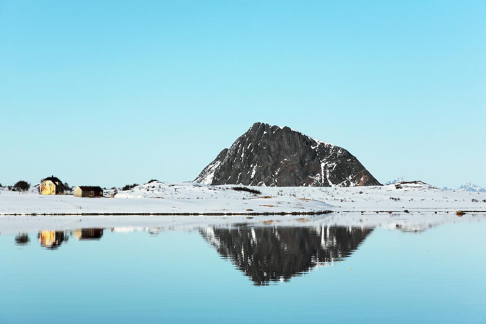 Vestvågøy, Gimsøya, Norway