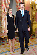 061014 Spanish Royals Meet Patrons of the Prince Of Asturias Foundation