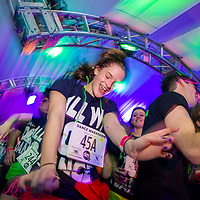 Students are energized while dancing at the annual  Dance Marathon at Northwestern University