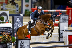 GREVE Willem (NED), Disinaa <br /> Grand Prix von Volkswagen<br /> Int. jumping competition over two rounds (1.55 m) - CSI3*<br /> Comp. counts for the LONGINES Rankings<br /> Braunschweig - Classico 2020<br /> 08. März 2020<br /> © www.sportfotos-lafrentz.de/Stefan Lafrentz