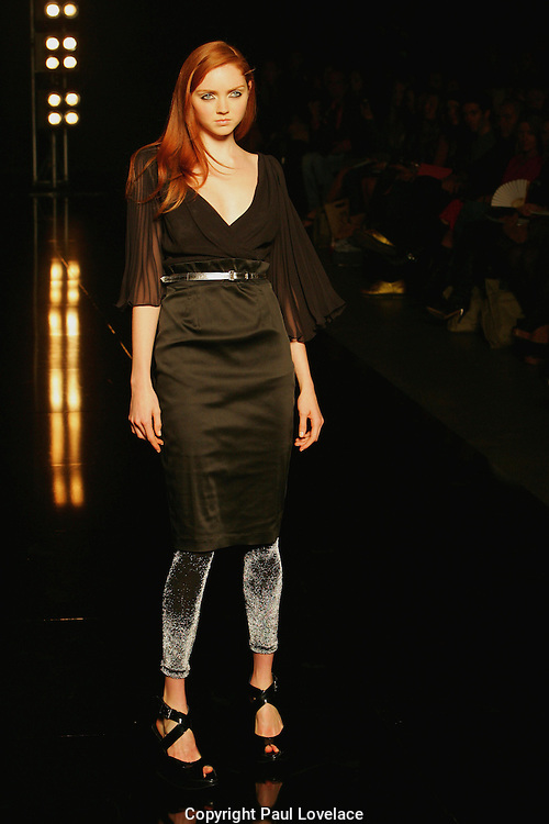 Mercedes Australian Fashion Week starts in Sydney with model British model Lily Cole appearing in Charlie Brown Show. .Lily Cole in Charlie Brown Show, Sydney. [ Total 75 pictures ].[ Non Exclusive], Fashion shoots & events, Sydney . An instant sale option is available where a price can be agreed on image useage size. Please contact me if this option is preferred.