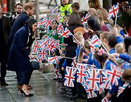 Prince Harry and Meghan Markle visit Birmingham, 08-03-2018