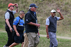 March 29, 2019 - Austin, Texas, United States - Tiger Woods walks off the 16th hole after winning his match during the third round of the 2019 WGC-Dell Technologies Match Play at Austin Country Club. (Credit Image: © Debby Wong/ZUMA Wire)