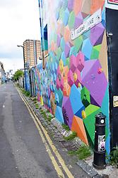 Trafalgar Lane, Brighton, Sussex UK May 2019