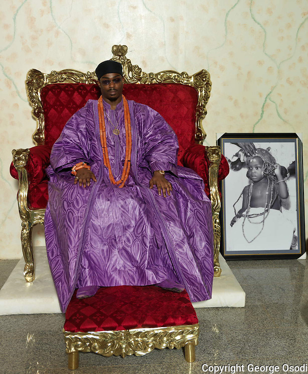 The Dein of Agbor Kingdom, His Royal Majesty Benjamin Ikenchuku Keagborekuzi the First (Keagborekuzi I). He was born in July 1977, but following the unexpected death of his father, the late Obi in 1979, he was crowned the monarch at the age of two years, four months -the youngest anywhere in the world. This feat was noted in the Guinness Book of World Records in 1980 when he was acknowledged as the youngest crowned monarch.