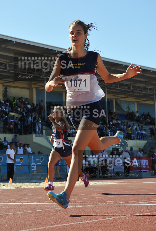 CAPE TOWN, SOUTH AFRICA - Friday 4 March 2016, during the Western Province Athletics Junior &amp; U23 Track and Field athletic championships at the Vygieskraal Athletics Stadium in Athlone. <br /> Photo by Roger Sedres/ImageSA