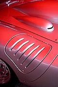 Image of a Porsche RS Spyder detail at the Monterey Historics, Laguna Seca Raceway, Monterey, California, America west coast