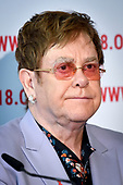 AIDS2018 Persconferentie Elton John Aids Foundation