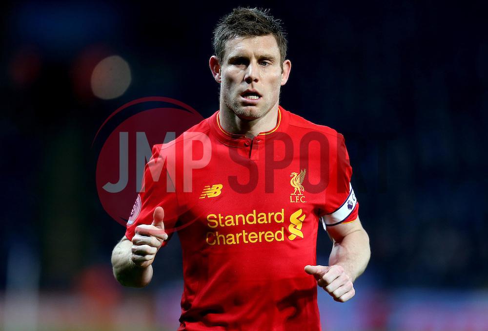 James Milner of Liverpool - Mandatory by-line: Robbie Stephenson/JMP - 27/02/2017 - FOOTBALL - King Power Stadium - Leicester, England - Leicester City v Liverpool - Premier League
