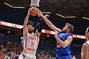 Tornike Shengelia, Niccolo Melli<br /> Nazionale Italiana Maschile Senior<br /> Eurobasket 2017 - Group Phase<br /> Georgia - Italia<br /> FIP 2017<br /> Tel Aviv, 02/09/2017<br /> Foto Ciamillo - Castoria/ M.Longo