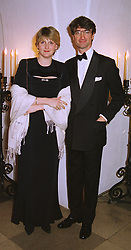 LORD & LADY MANCROFT at a dinner in London on 30th November 1998.MMK 8